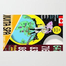 Vivita Spa, Toronto, Canada, Commercial Advert Artwork Rug