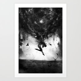 Back to origins Art Print