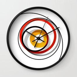 Abstract Geometric Circles Pattern Wall Clock