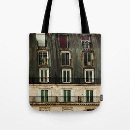 Parisian Windows. Tote Bag
