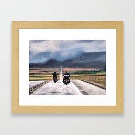 Roll Me Away Framed Art Print