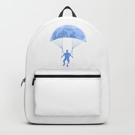 Paragliding By The Moon Backpack