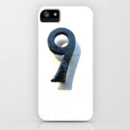 Found Number 9 iPhone Case