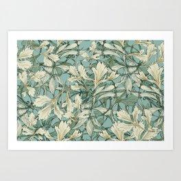Celery Leaves - Art Nouveau Pop Art Print