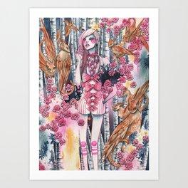 Be Human Art Print