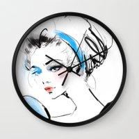cinderella Wall Clocks featuring Cinderella  by emametlo