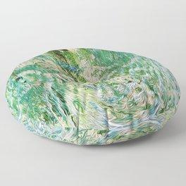 416 - Abstract Colour Design Floor Pillow