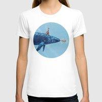 party T-shirts featuring Party Whale  by Terry Fan