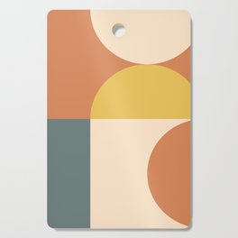 Abstract Geometric 04 Cutting Board