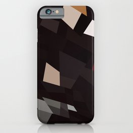 Abstract Geometric Art Colorful Design 591 iPhone Case