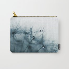 Dandelion Blue IV Carry-All Pouch