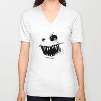 monty python V-neck T-shirts featuring Monty by Nicholas Ely