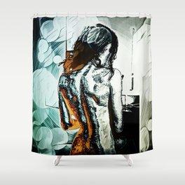 Back Shower Curtain