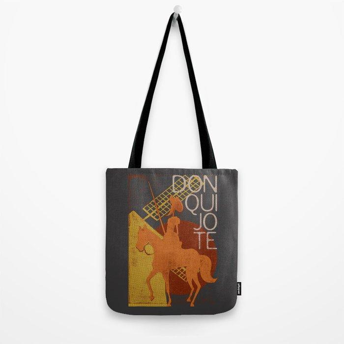 Books Collection: Don Quixote Tote Bag