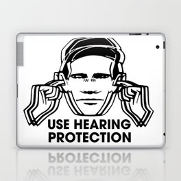 FAC 1 tribute - Factory Records - Use Hearing Protection Laptop & iPad Skin