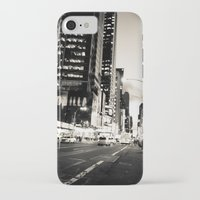 broadway iPhone & iPod Cases featuring Broadway Avenue by aldasilva