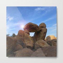 Stone Formation Metal Print