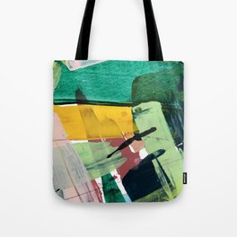 Hopeful[3] - a bright mixed media abstract piece Tote Bag