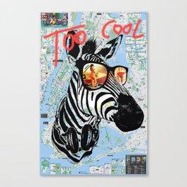Way Too Cool - #1 Canvas Print