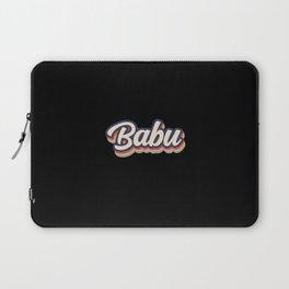 Babu Vintage Colors Laptop Sleeve
