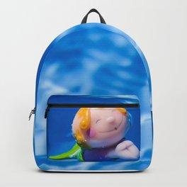 Mermaid in the pool Backpack