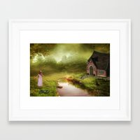 fairy tale Framed Art Prints featuring Fairy Tale by Susann Mielke