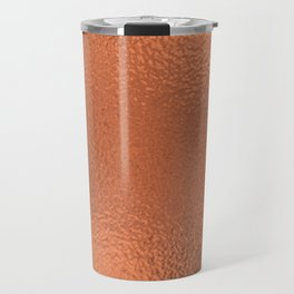 Simply Metallic in Deep Copper Travel Mug