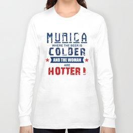 Murica Long Sleeve T-shirt