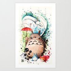 The Crossover Art Print