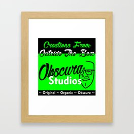Awesome Obscura Pomotional Stuff Framed Art Print