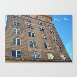 Self Help Credit Union Downtown Durham NC Canvas Print