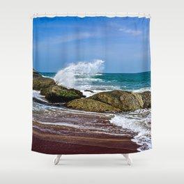 Beaches of Sri Lanka Shower Curtain