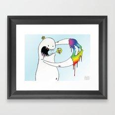 Eugh! Framed Art Print