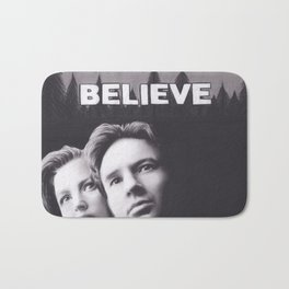 I Want to Believe X Files Bath Mat