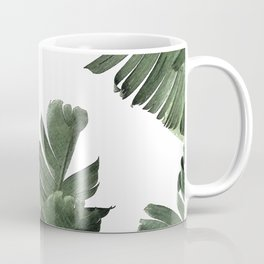 Banana Leaf Frenzy #society6 Coffee Mug