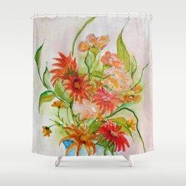 Composição com flores I (Composition with flowers I) Shower Curtain