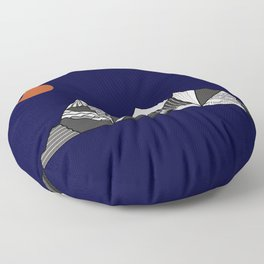 Mountainview Floor Pillow