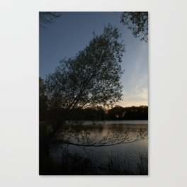 Over Hanging Canvas Print