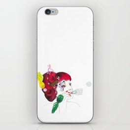 Bubble girl iPhone Skin