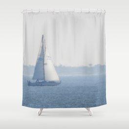 Dreamy Sailboat Shower Curtain