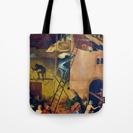 """Hieronymus Bosch """"The Haywain Triptych"""" right panel Tote Bag"""