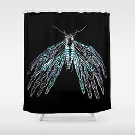 Anatomical Moth 2 Shower Curtain