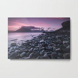 Sunset at Elgol Metal Print