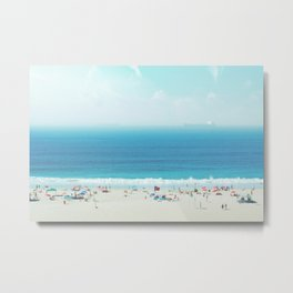 Copacabana #society6 #decor #buyart Metal Print