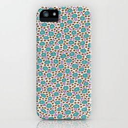 Ditsy Flora Green iPhone Case