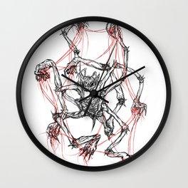 Lying in Wait Wall Clock