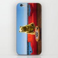 bleach iPhone & iPod Skins featuring Bleach Blonde Bear by Bemular
