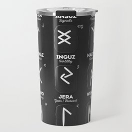 Viking Runes Travel Mug