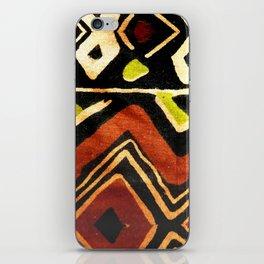 Africa Design Fabric Texture iPhone Skin