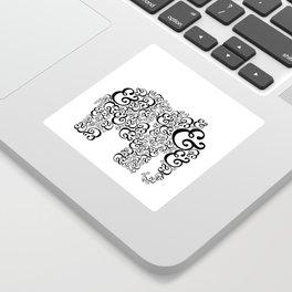 Ampersand Elephant Sticker